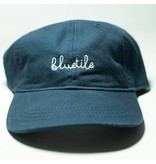 BLUETILE BLUETILE SCRIPT DAD HAT NAVY