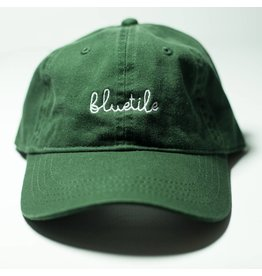 BLUETILE BLUETILE SCRIPT DAD HAT GREEN