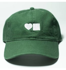 BLUETILE LOVE BLUETILE DAD HAT FOREST GREEN