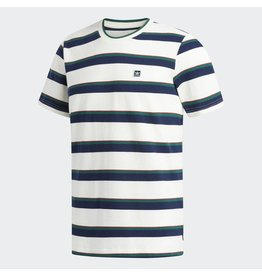 ADIDAS ADIDAS CLUBHOUSE TEE OFF WHITE / NIGHT INDIGO / COLLEGIATE GREEN