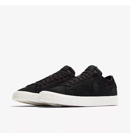 NIKE SB BLAZER LOW DECONSTRUCTED BLACK SUEDE