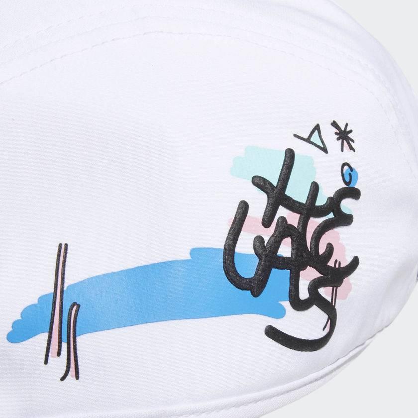 ADIDAS ADIDAS X HELAS FOUR PANEL CAP WHITE