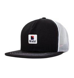 BRIXTON BRIXTON STOWELL MESH CAP BLACK / WHITE