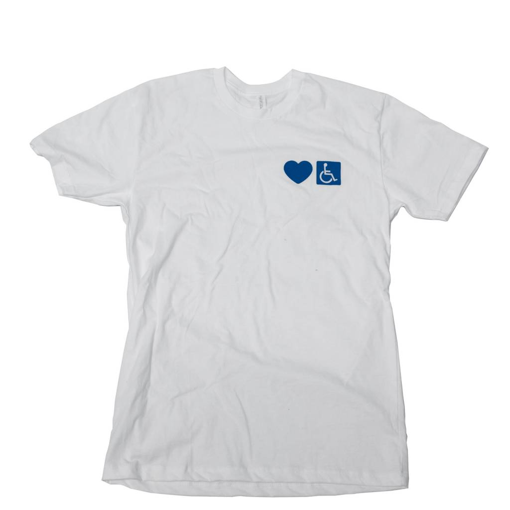 "BLUETILE BLUETILE ""LOVE CHARLES"" T-SHIRT WHITE"