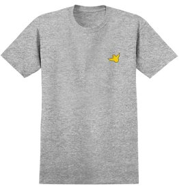 KROOKED KROOKED FLY STRAIT S/S SHIRT GRAY / YELLOW