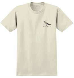 ANTIHERO ANTIHERO BASIC PIGEON S/S SHIRT CREAM / BLACK