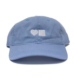 BLUETILE LOVE BLUETILE DAD HAT LIGHT BLUE