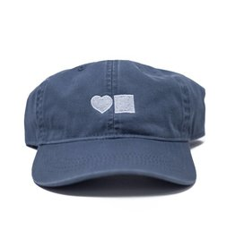 BLUETILE LOVE BLUETILE DAD HAT SLATE BLUE