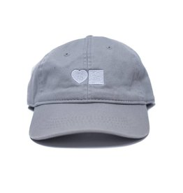 BLUETILE LOVE BLUETILE DAD HAT GREY