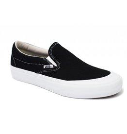 VANS VANS SLIP ON PRO (TOE CAP) BLACK / WHITE