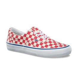 VANS VANS CHECKERBOARD ERA PRO ROCOCCO RED / CLASSIC WHITE