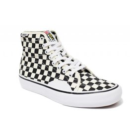 VANS VANS AV CLASSIC HIGH PRO CHECKERBOARD WHITE / BLACK