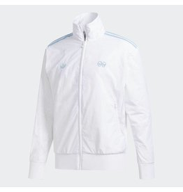 ADIDAS ADIDAS X KROOKED TRACK JACKET WHITE / CLEAR BLUE