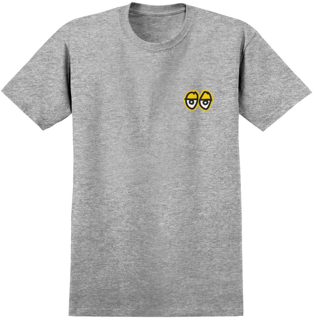 KROOKED KROOKED EYES S/S T-SHIRT CHARCOAL / HEATHER