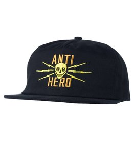 ANTIHERO ANTIHERO STAY AWAY SNAP BACK BLACK