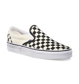 VANS VANS CLASSIC SLIP-ON BLACK / WHITE CHECKERBOARD