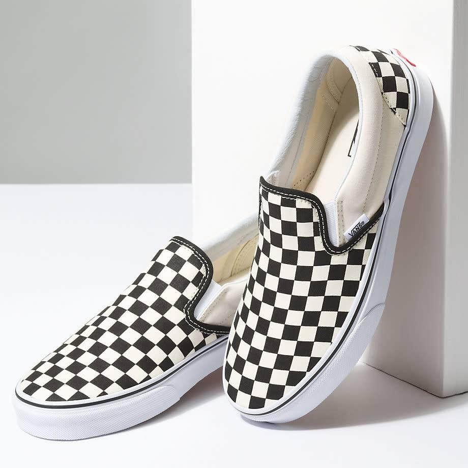 VANS VANS CLASSIC SLIP-ON BLACK / WHITE CHECKERBOARD
