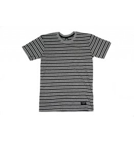BLUETILE BLUETILE SURPLUS STRIPED TEE GREY / BLACK