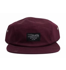 BLUETILE BLUETILE SURPLUS 5 PANEL HAT GARNET