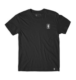 GIRL GIRL X SUB POP LOGO T-SHIRT BLACK