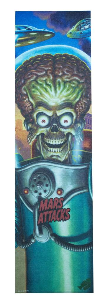 MOB MOB X MARS ATTACKS GRAPHIC GRIPTAPE BIG MARTIAN