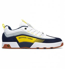 DC DC SHOES LEGACY 98 SLIM WHITE / YELLOW / NAVY