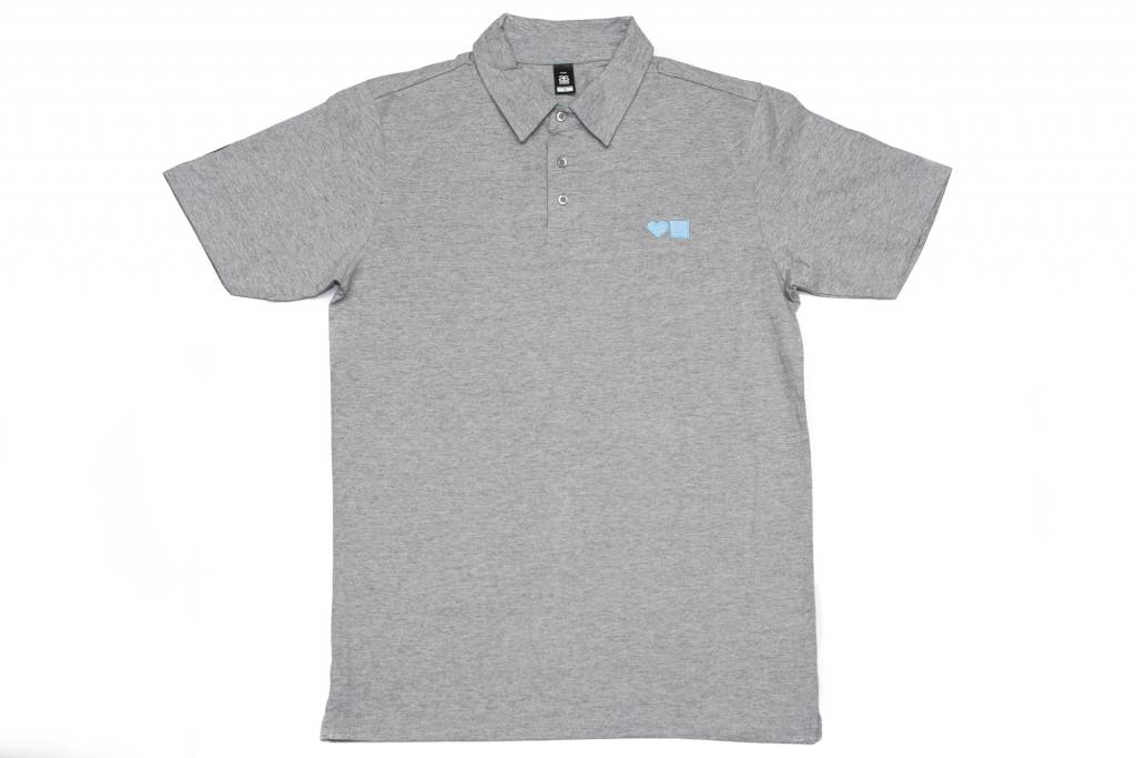 BLUETILE BLUETILE SURPLUS LOVE BLUETILE POLO GREY / LIGHT BLUE