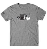 GIRL GIRL X SUB POP SHELF TRI-BLEND T-SHIRT GREY