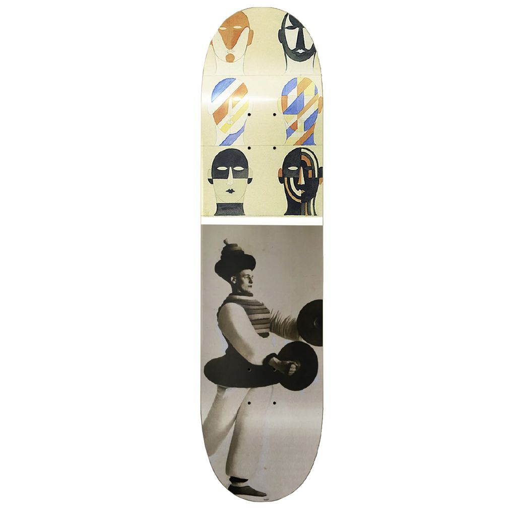 ISLE Isle Skateboards Tom Knox Triadic Deck 8.5