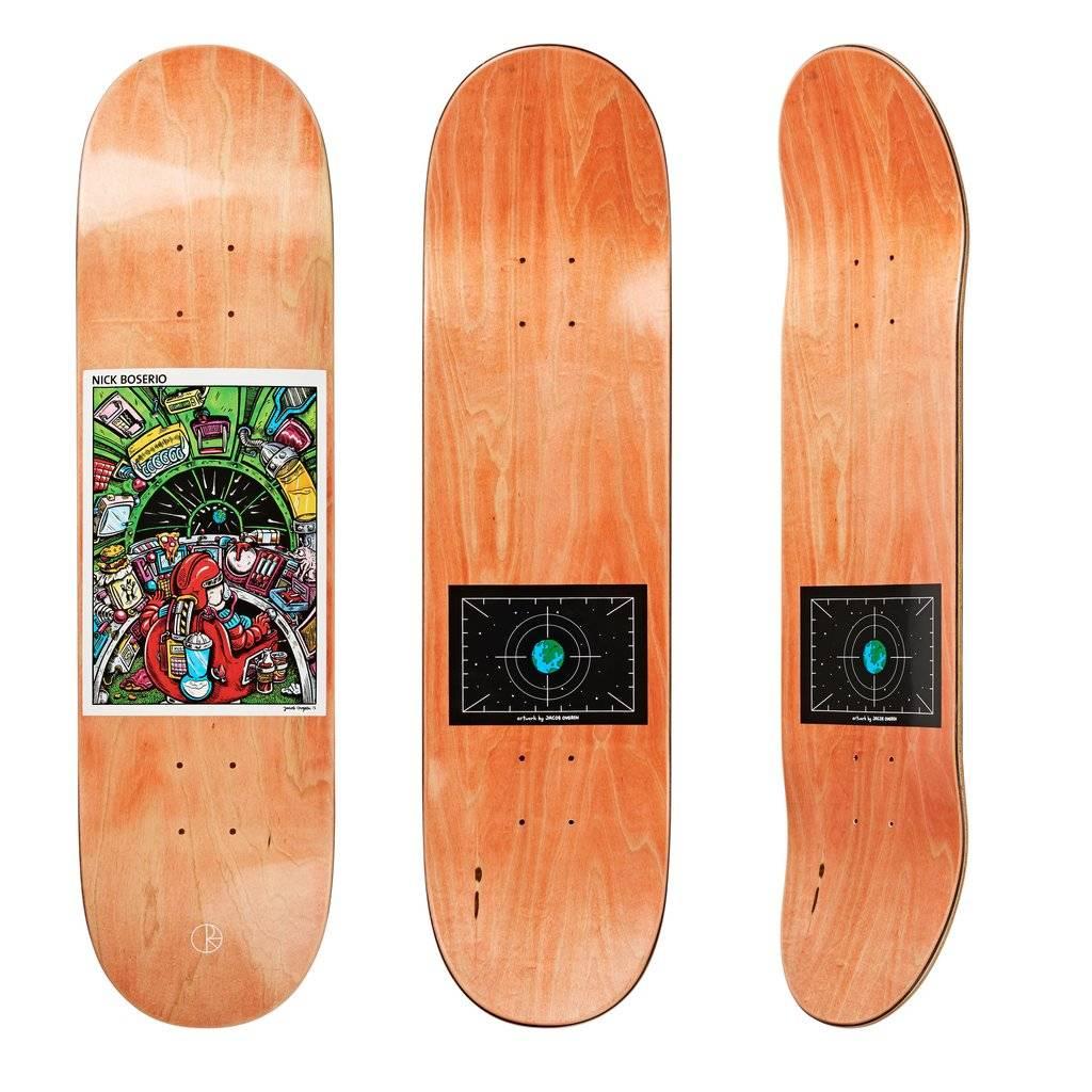 Polar Skate Co Nick Boserio Earth Attack 8.25