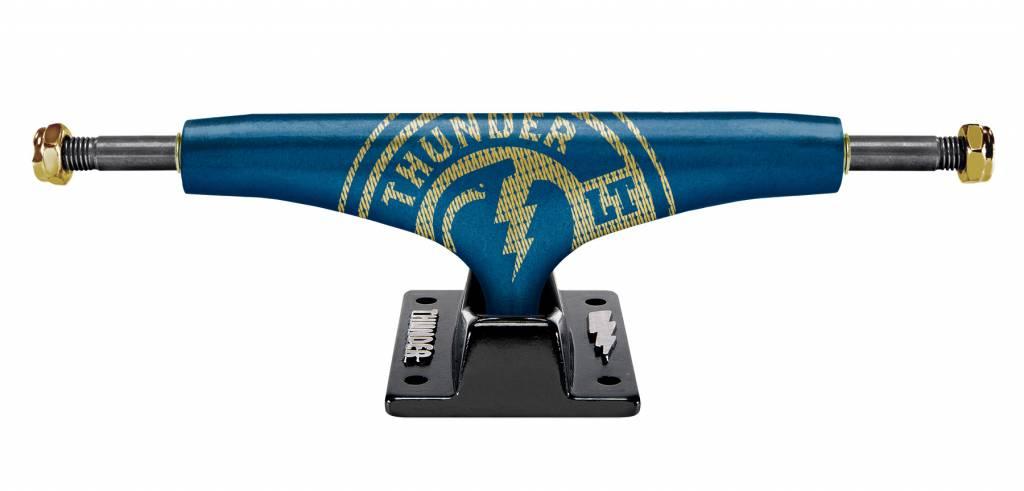 THUNDER THUNDER TRUCKS 148 GOLDSTRIKE LT BLU/BLK (SET OF TWO)