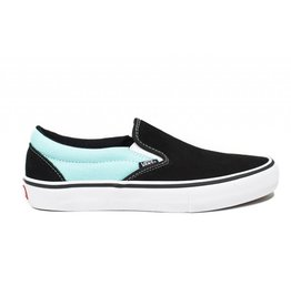 VANS VANS SLIP-ON PRO ASYMMETRICAL BLACK / BLUE / ROSE