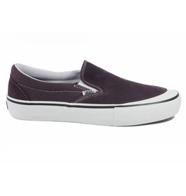 VANS VANS SLIP-ON PRO RAISIN / WHITE