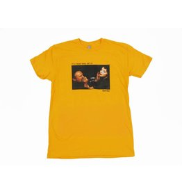 "BLUETILE BLUETILE ""STRANGE WORLD"" T-SHIRT GOLD"