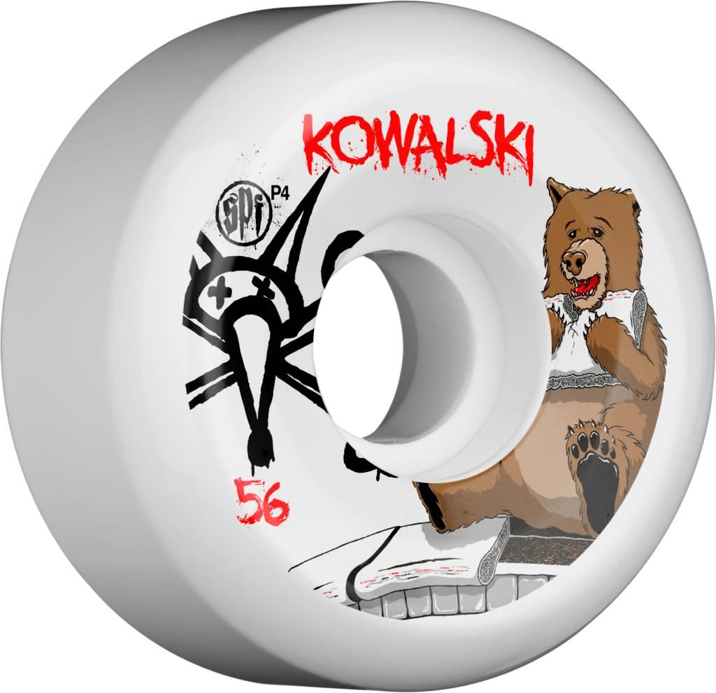 BONES BONES WHEELS SPF PRO KOWALSKI BEAR 56MM P5