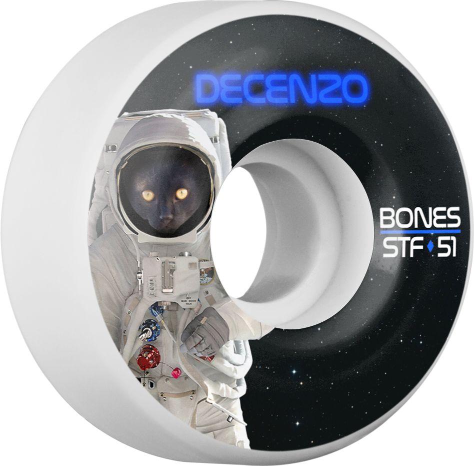 BONES BONES WHEELS STF PRO DECENZO CATSTRONAUT 51MM V2