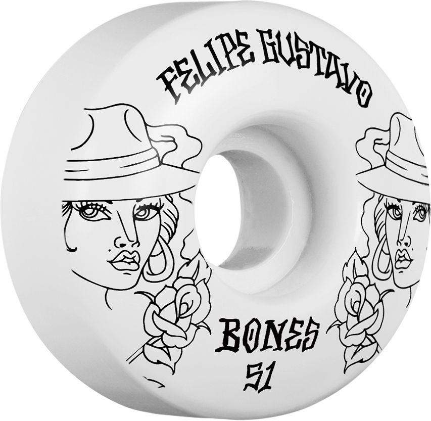 BONES BONES WHEELS STF PRO GUSTAVO CHICA 51MM V1