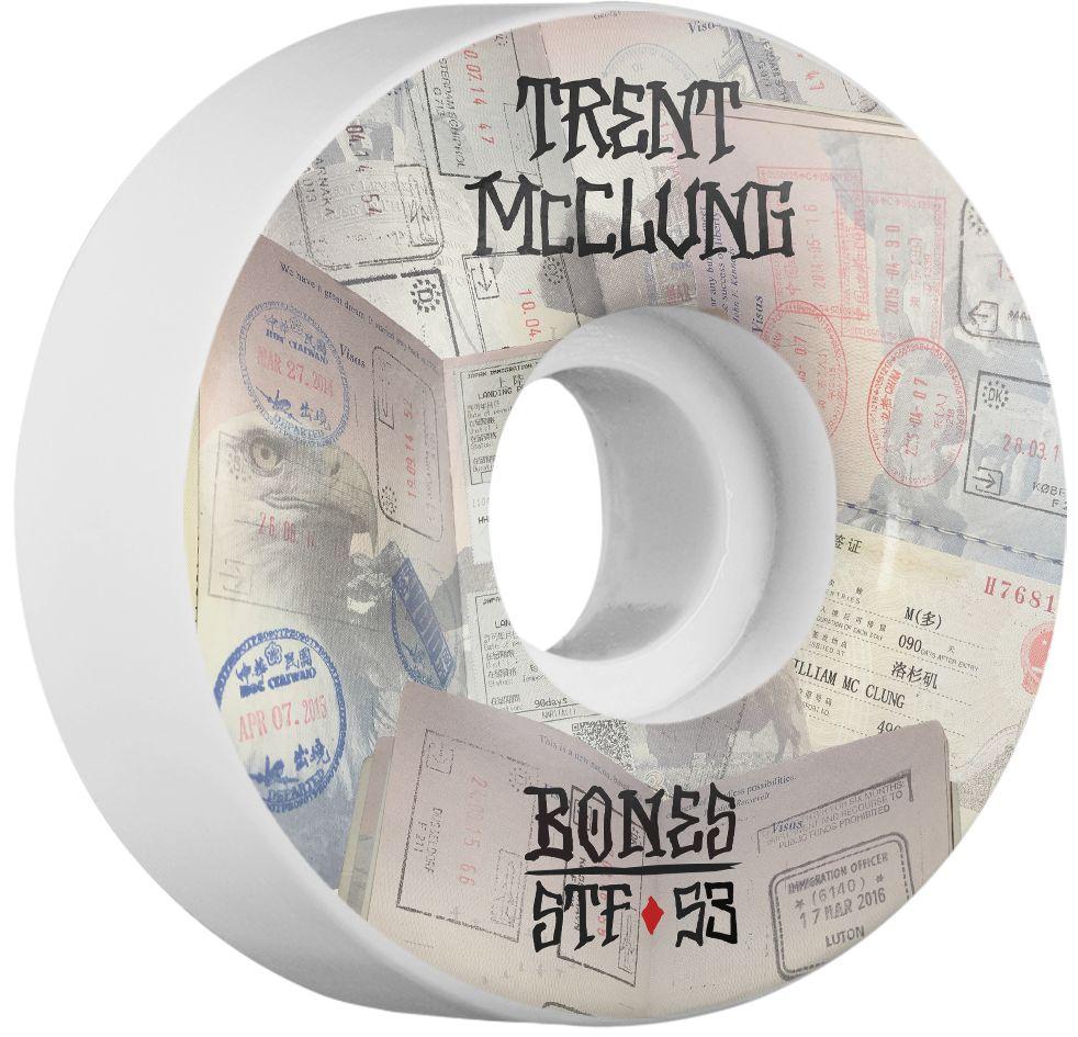 BONES BONES WHEELS STF PRO MCCLUNG PASSPORT 53MM V1