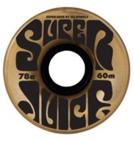 OJ WHEELS OJ III WHEELS SUPER JUICE GOLD 78a 60mm