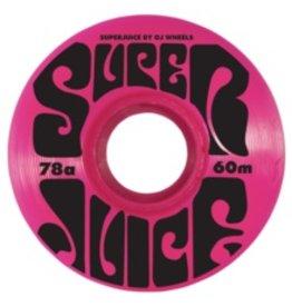 OJ WHEELS OJ III WHEELS SUPER JUICE PINK 78a 60mm