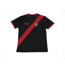 THRASHER THRASHER FUTBOL JERSEY BLACK/RED