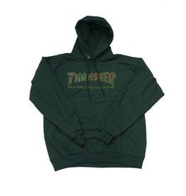 THRASHER THRASHER DAVIS HOODIE FOREST GREEN