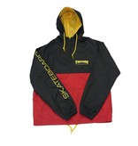 THRASHER THRASHER MAG LOGO ANORAK BLACK/RED