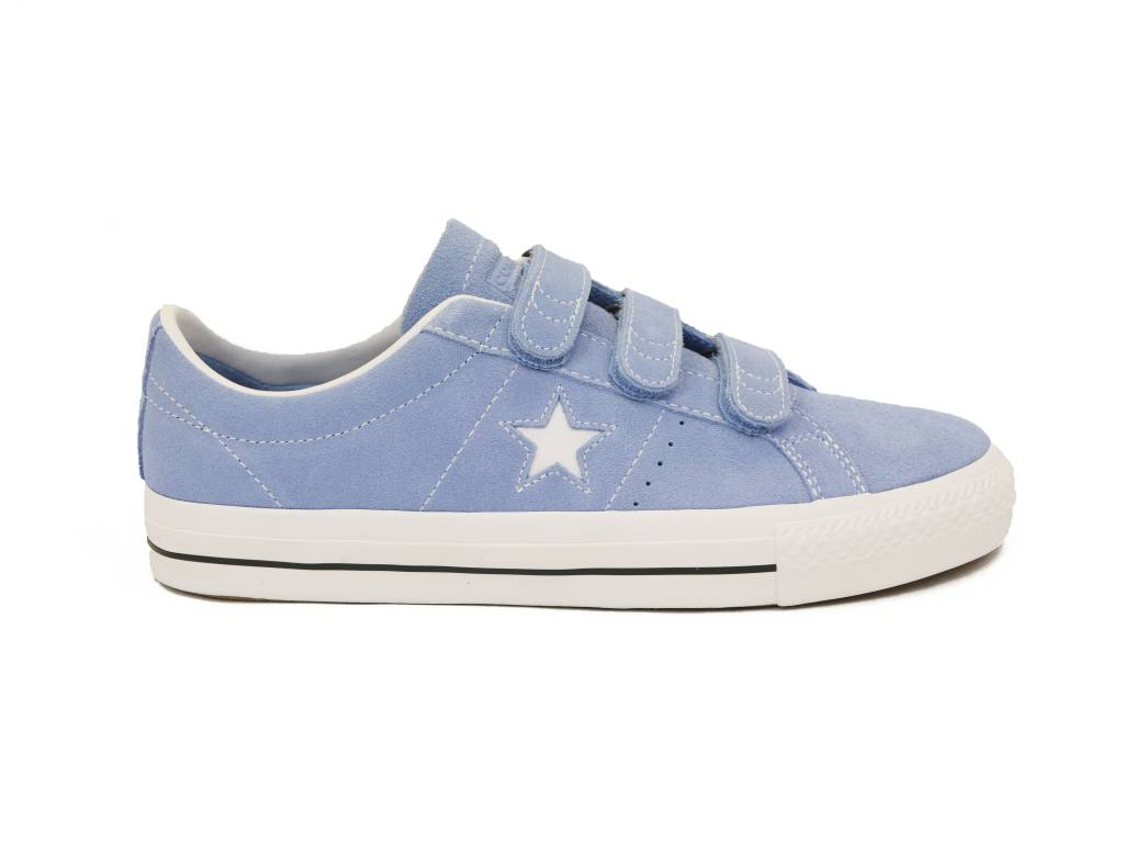 CONVERSE CONVERSE ONE STAR PRO 3V OX LIGHT BLUE / WHITE