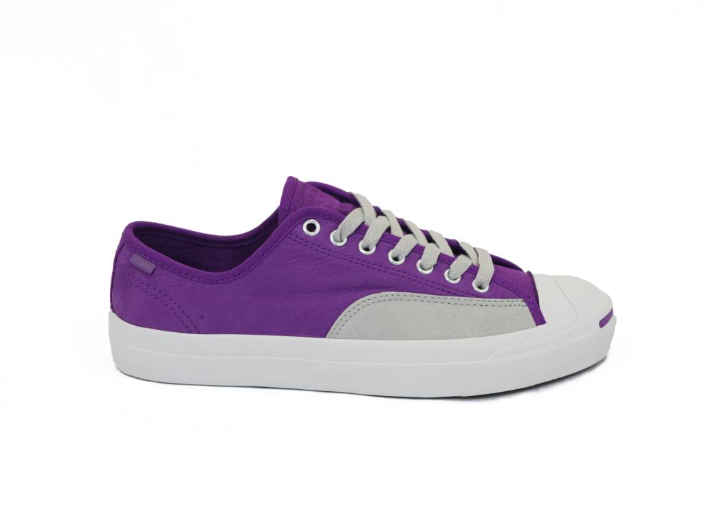 CONVERSE CONVERSE JACK PURCELL PRO OX ICON VIOLET /  PALE GREY