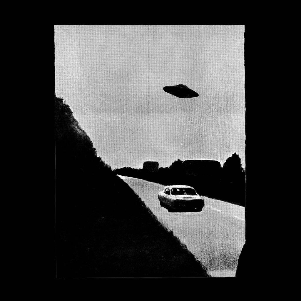 FUCKING AWESOME FUCKING AWESOME UFO TEE BLACK