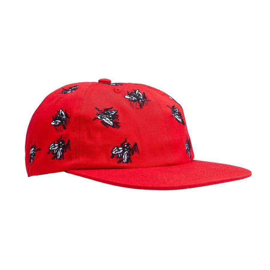 FUCKING AWESOME FUCKING AWESOME FLIES HAT RED