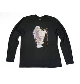BLUETILE BLUETILE WATER COLOR LONG SLEEVE BLACK