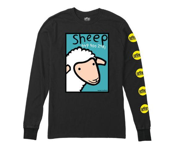 ETNIES ETNIES SHEEP NUMBER LONG SLEEVE BLACK