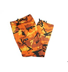 BLUETILE BLUETILE SURPLUS CARGO PANT ORANGE CAMO
